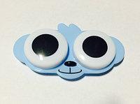 Контейнер для линз голубой мишка