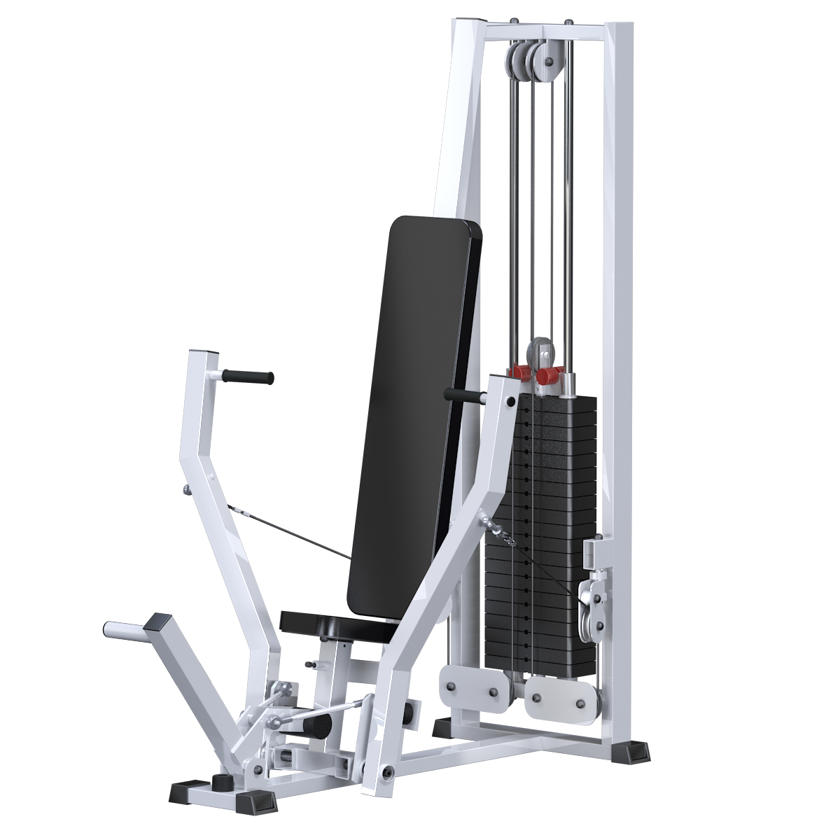 Жим горизонтальный (стек 100кг) (AR080)