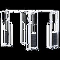 Двойной кроссовер на базе блочной рамы (стек 4х100кг) (AR081.4х100)