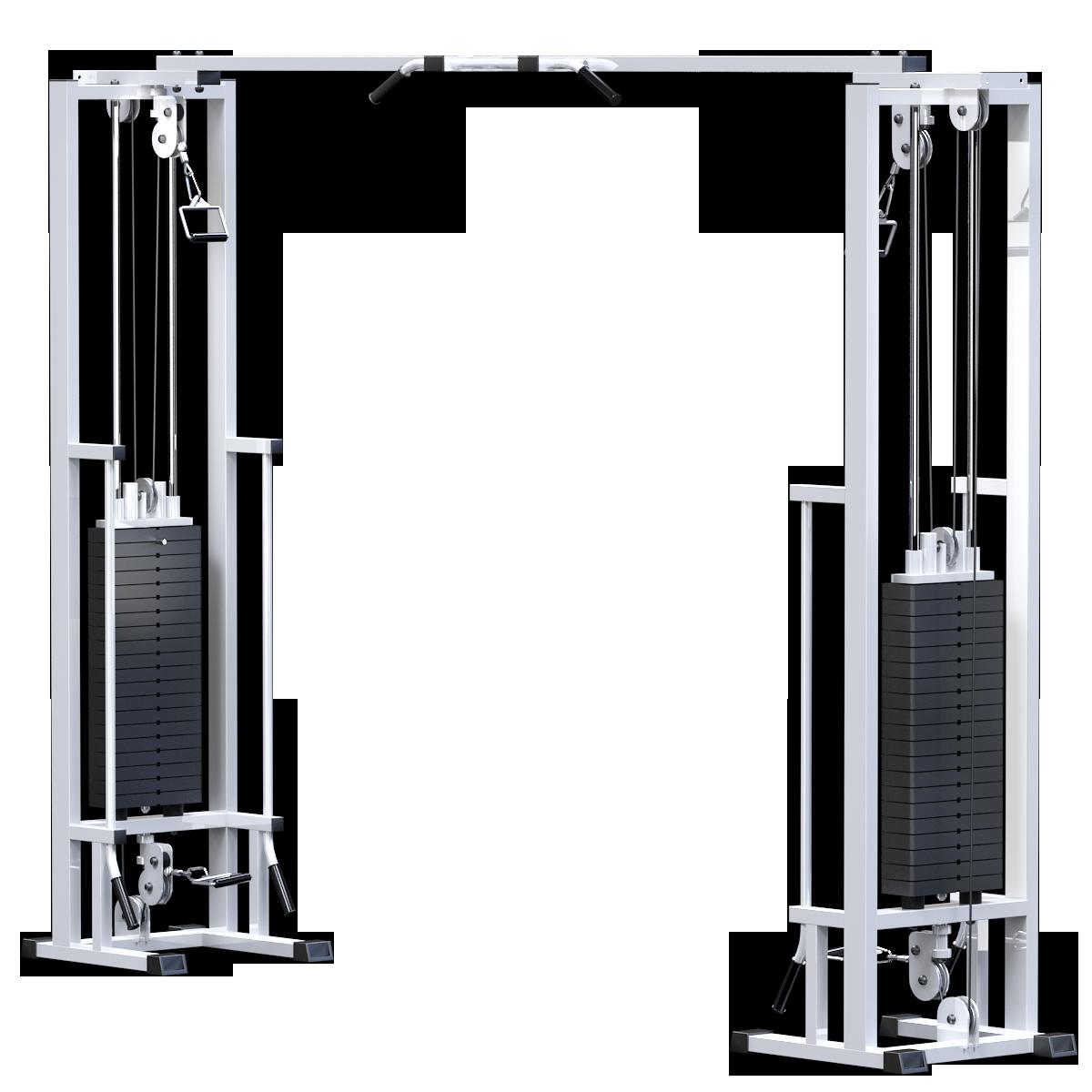 Кроссовер на базе реабилитационной рамы (стек 2х100кг) (bAR082.2х100)