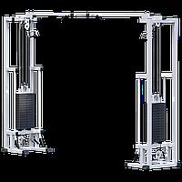Кроссовер на базе реабилитационного тренажера (стек 2х75кг) (AR083.2х75)