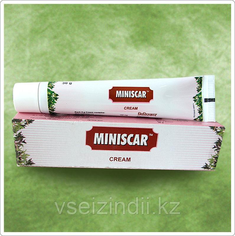 Минискар крем, Miniscar Cream 30 грамм Charak. против растяжек/ шрамов.