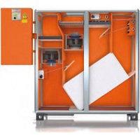 Климатическая установка с перекрёстно-противоточным теплообменником для бассейнов