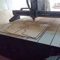 Фрезерная резка - криволинейный раскрой листового материала