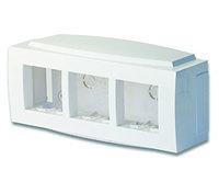 """DKC 09221 Модульная коробка для электроустановочных изделий """"Brava"""", 6 модулей"""