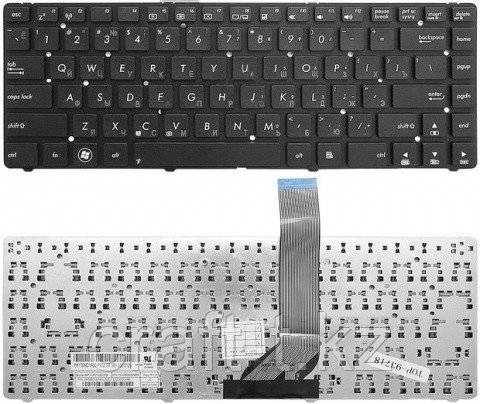 Клавиатура для ноутбука  ASUS K45  без рамки