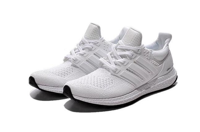 Кроссовки Adidas Ultra Boost белые, фото 2