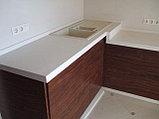 Купить Кухонныуюстолешницу из искусственного камня алматы, фото 5