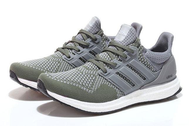 Кроссовки Adidas Ultra Boost серые, фото 2
