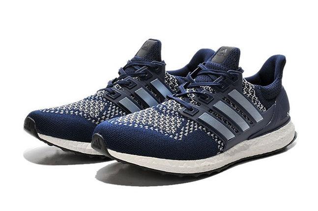 Кроссовки Adidas Ultra Boost синие, фото 2