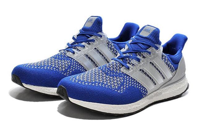 Кроссовки Adidas Ultra Boost светло синие, фото 2