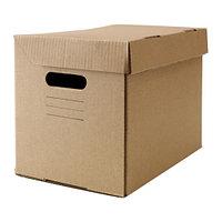 Коробка с крышкой ПАППИС 25x34x26 см ИКЕА, IKEA
