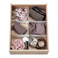 Разделитель для ящика ХОФТА 3 шт. белый ИКЕА, IKEA , фото 1