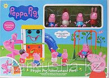 Игровой набор парк развлечений (Свинка Пеппа)(не оригинал)