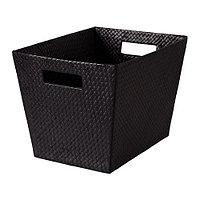 Корзина БЛАДИС черный, ИКЕА, IKEA, фото 1