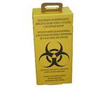 Контейнер  для утилизации мед. отходов,10л. бурый