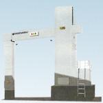 Установка Hexis-portalScanner для досмотра грузового автотранспорта