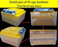 Инкубатор автомат Комфорт 2-х ярусный на 96 яиц