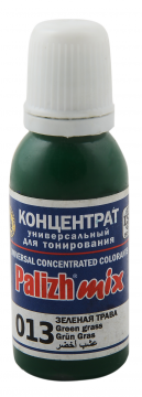 КОЛЕР 013 Зеленая трава 20мл концентрат для тонирования «PalizhMix», фото 2