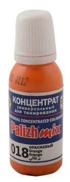 КОЛЕР 018 Оранжевый 20мл концентрат для тонирования «PalizhMix», фото 2