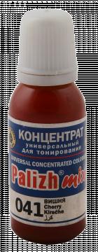 КОЛЕР 041 Вишня 20мл концентрат для тонирования «PalizhMix»