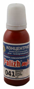 КОЛЕР 041 Вишня 20мл концентрат для тонирования «PalizhMix», фото 2