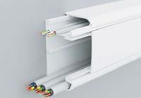 DKC 09500 Кабель-канал 90х50 мм, с перегородкой, боковой и фронтальной крышками, фото 1