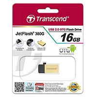 Мобильные USB-накопители с поддержкой OTG Transcent JetFlash 380 16 GB, фото 1