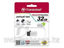 Мобильные USB-накопители с поддержкой OTG Transcent JetFlash 380 32GB