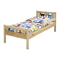 Кровать/каркас с реечным дном КРИТТЕР, сосна, ИКЕА, IKEA