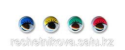 """""""Gamma"""" MER-12 Глаза круглые с бегающими зрачками цв. d 12 мм"""