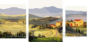 """Картина по номерам """"Живописные поля""""     под заказ 3 дня"""