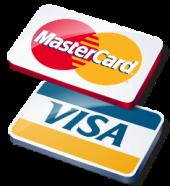 Оплачивайте свои покупки картами Visa или Mastercard