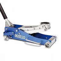 """Домкрат подкатной """"SPARCO"""", 2 тонны, для автоспорта, сверхнизкий, алюминиевый, выс. подъёма 83-470 м"""