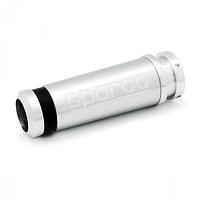 """Рукоятка ручного тормоза """"SPARCO"""", алюминий + резина, комплектуется 3 сменными кольцами чёрн., син.,"""