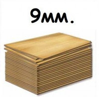 Фанера 9мм 2/3 шлифованная