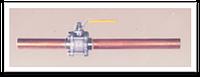 Вентиль магистральный газовый