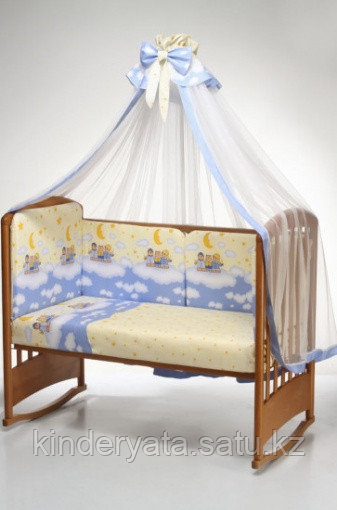"""Комплект в кроватку """"Аманда"""" 7 предметов"""