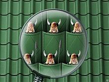 Металлочерепица Викинг зеленый