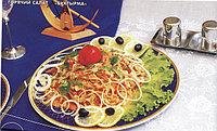 """Рецепты казахской национальной кухни. Горячий салат """" Буктырма"""""""