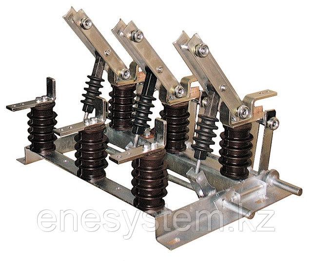 Высоковольтные разъединители внутренней установки типа РВ, РВО, РВЗ, РВФЗ, РЛВО совместно с приводом ПР-10