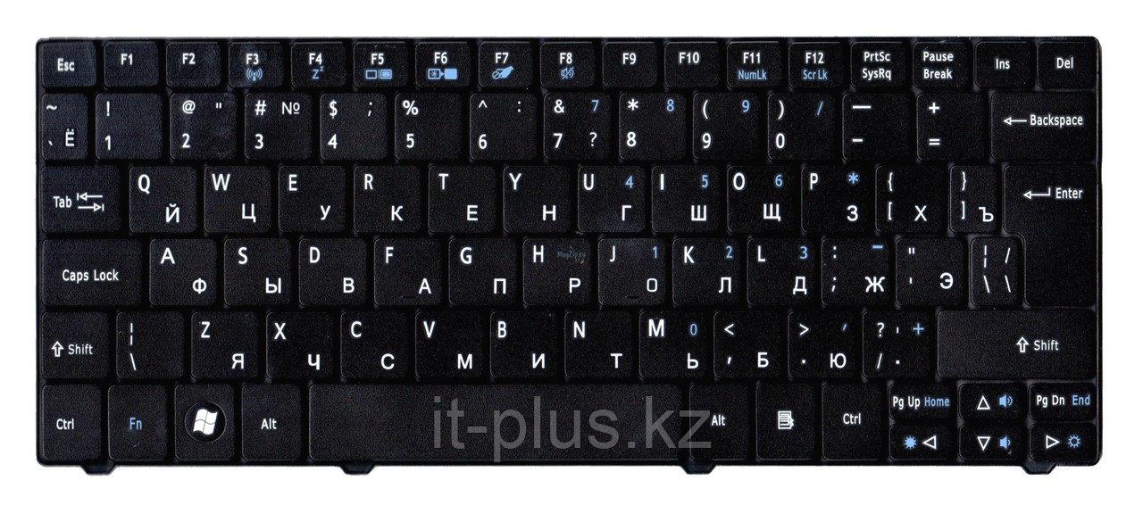 Клавиатура для ноутбука Acer Aspire 1830T, RU, черная