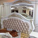 КАССАНДРА спальный гарнитур, 6Д, крем, фото 5