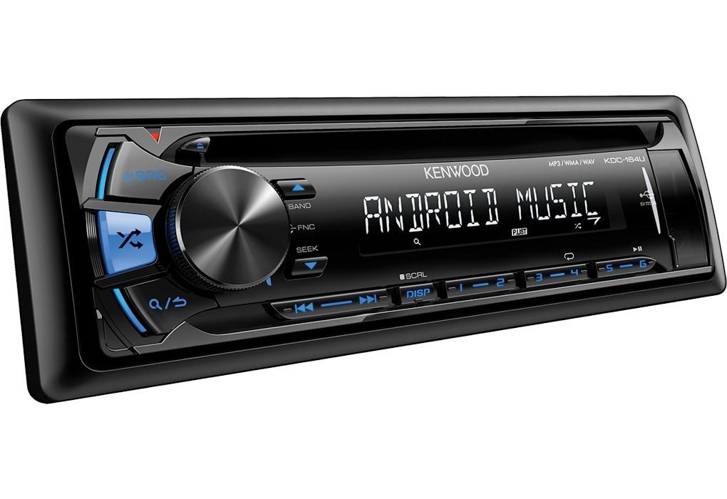 Автомагнитола KDC-164UB CD/MP3 USB голубая подсветка - фото 1