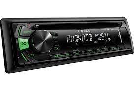 Автомагнитола KDC-164UR CD/MP3 USB зеленая подсветка - фото 1