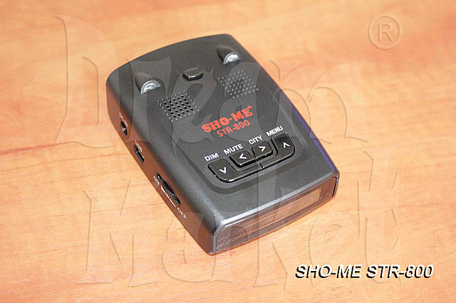 Радар-детектор Sho-Me STR-800