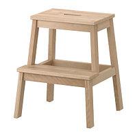 Табурет-лестница БЕКВЭМ береза 50 см. ИКЕА, IKEA, фото 1
