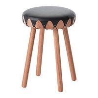Табурет ТИЛЛФЭЛЛЕ эвкалипт ИКЕА, IKEA, фото 1