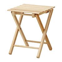 Табурет складной ХАЛЬФРЕД  бук ИКЕА, IKEA, фото 1
