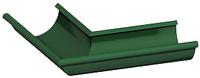 Водосточная система металлическая круглого сечения (МП Престиж) Угол желоба 90 градусов наружный металлический